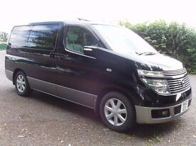 Nissan Elgrand, 3.5, 2002, V6auto, 4x4, MPV, Twin-Sunroof, Front & Rear cameras, REDUCED TO £5,495