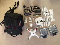 DJI Phantom 3 Standard + Lots of accessories!