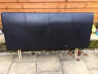 Headboard double bed