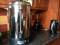 Catering hot water urn