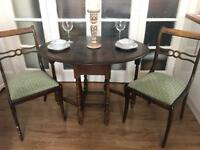 ANTIQUE/VINTAGE TABLE+2CHAIRS FREE DELIVERY LDN🇬🇧