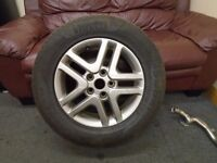 MITSUBISHI SHOGUN PININ 1 x 16 INCH ALLOY WHEEL AND TYRE 215/65/16