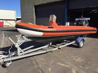 OSPREY EAGLE 5.6m RIB. RETUBED