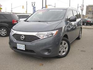 2012 NISSAN QUEST S | 7 Passenger • Fully Loaded •