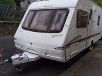 Swift Charisma Fixed Bed Touring Caravan