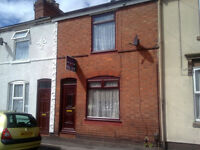 2 Bedroom Terraced House with Large reception hall. Close to all amenities Recently re-decorated.