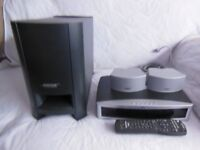 BOSE 321 GSX SERIES III HDMI HOME THEATER SYSTEM WITH BUILT IN HARD DRIVE. Good Working Order