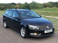 Volkswagen Passat 1.6 TDI BlueMotion Tech S 5dr 3 M Warranty, F S H, Cam at 95K