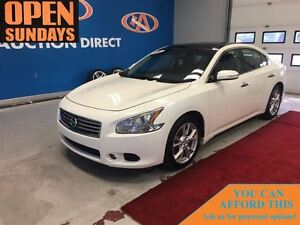 2012 Nissan Maxima LEATHER! HUGE SUNROOFS! FINANCE NOW!