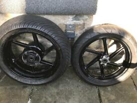Fireblade wheels