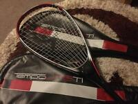 Pair of Tempo lite ti squash rackets