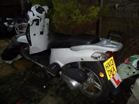 very nice fast scooter when running for sale as spares or repair