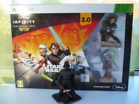 Disney Infinity Star Wars Game Starter Pack With Darth Vader Figure Xbox 360