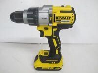 DeWalt 18V XR Brushless Cordless Combi Drill (DCD996) With 2.0AH Battery (046600053740)