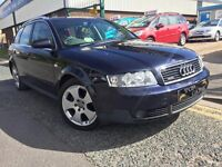 "AUDI A4 QUATTRO 1.9 TDI ESTATE """"52 PLATE """" 17 ALLOYS"