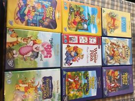 Winnie the Pooh DVDs
