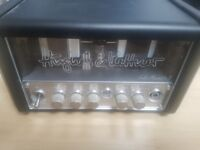 HUGHES & KETTNER 5 WATT ALL TUBE HEAD AMPLIFIER ELECTRIC GUITAR AMP, WITH SOFT CASE INCLUDED