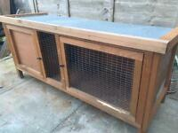 Guinea pig /rabbit hutch used