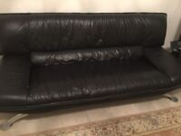good condition 3 seat lether sofa
