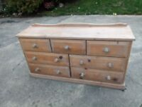 Old pine drawers