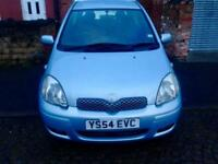 Toyota Yaris 1.0L 3 Door Hatchback 2004 Blue £1095
