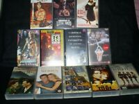 Collection of 12 VHS Videotapes