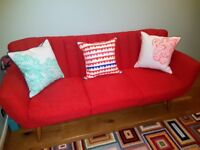 3 Seater Barker & Stonehouse Lila Sofa - Immaculate As New - £200