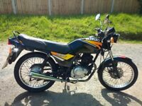 £580 2002 suzuki gs 125 learner legal