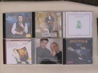 50 CDs, mostly classical and some soundtracks