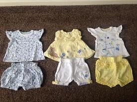 Baby girls first size bundle