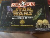 Star Wars Monopoly Collectors Edition.
