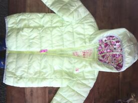 Girls joules coat 7-8 years.