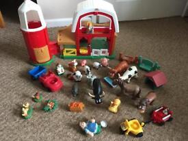 Little people farm set