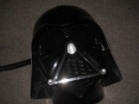 Star Wars Mask Darth Vader Movie Film Voice Changer Helmet Evil Black Memorabilia £30 ono