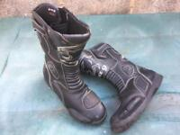 B A P motor cycle boots