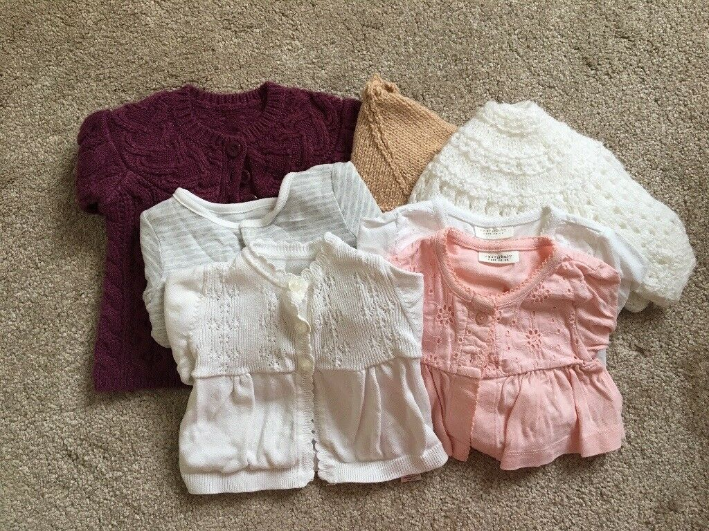 0-3 month baby cardigans