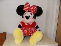 Large Mini Mouse soft toy