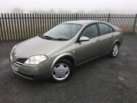 2005 05 NISSAN PRIMERA 1.8 S 5 DOOR HATCHBACK - *26th JUNE 2018 M.O.T* - CHEAP EXAMPLE!