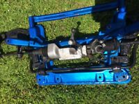 Peugeot 306 GTI6 Subframe with roller bearing wishbones and strut brace