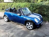 MINI COOPER S CONVERTIBLE 1.6 LTR (170BHP) 2005 6 SPEED MANUAL WITH CHILLI PACK