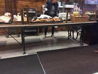 2 long table bases