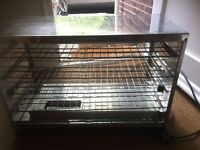 professional electric hot display cabinet . offers accepted, must go