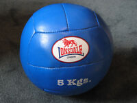 5kg Medicine Ball (in leather)