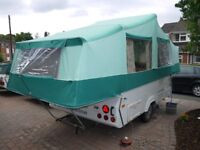 2006 PENNINE PULLMAN FOLDING CAMPER trailer tent