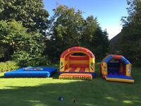 Bouncy castles/ inflatables for sale, possible business - make £450 per day!