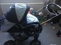 Selling baby pram. Suitable from new born Good condition need gone asal