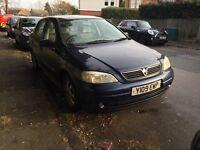 Vauxhall Astra CD 16V for sale, MOT, drives well, cheap.