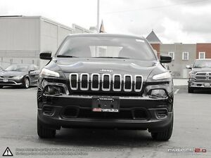 2016 Jeep Cherokee | SPORT | DEALER DEMO SELL OUT | TIRE SENSOR  Cambridge Kitchener Area image 2