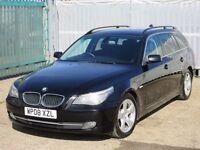 2008 (08 reg), BMW 5 Series 2.0 520d SE Touring 5dr