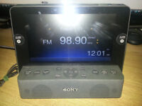 Sony dream machine made for ipod works with iphone